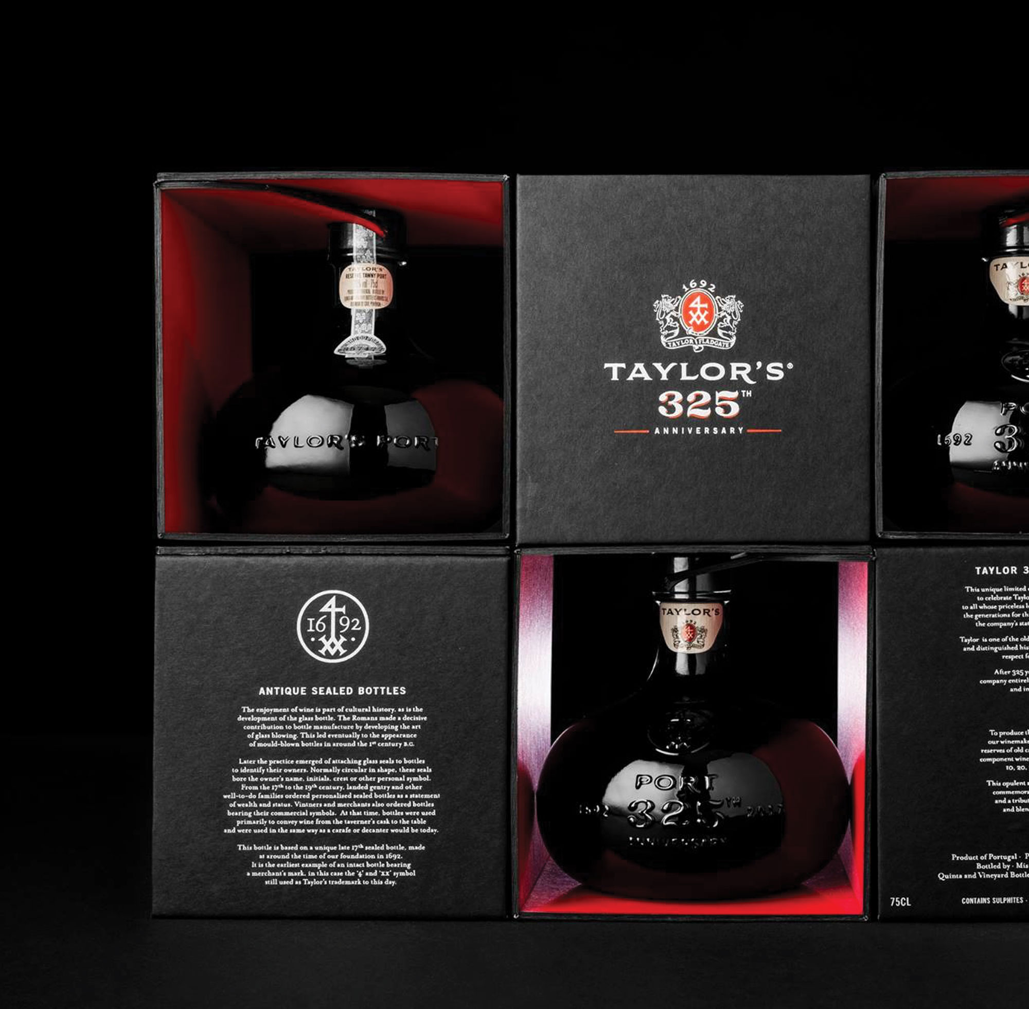 PACKAGING TAYLOR'S 325TH EDITION PORT WINE